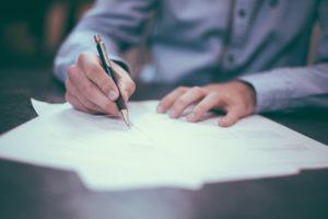 離婚協議書の書き方を詳細に記載しています。