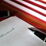 離婚協議書の雛形と文例の見本