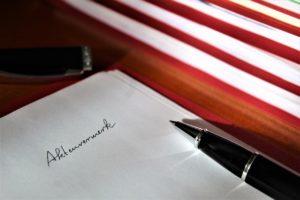 離婚届の提出